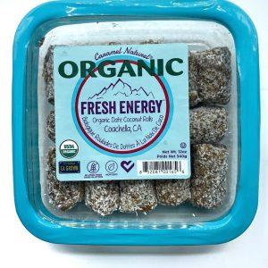 Organic Date Coconut Rolls